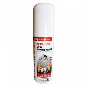 Mousti'Clac Natura - 75 ml - Spray Contra Insectelor