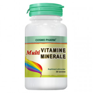 Multivitamine + multiminerale -  30 cpr