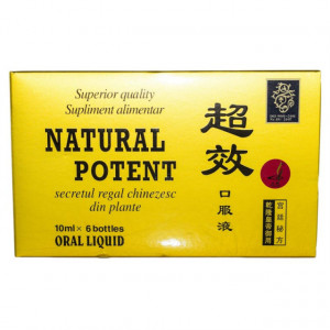 Natural Potent - 6 fiole