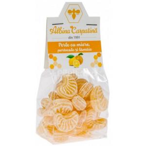 Perle cu miere, portocale si lamaie - 100 g