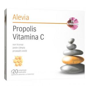 Propolis vitamina C cu echinacea - 20 cpr