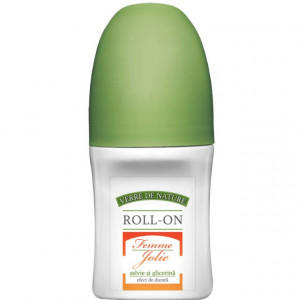 Roll-on Femme Jolie cu salvie si glicerina 50 ml