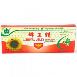 Royal Jelly (laptisor de matca) YK - 10 fiole x 10 ml