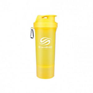 Shaker SmartShake slim galben 500 ml