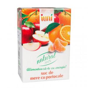 Suc natural de mere + portocale - 3 L