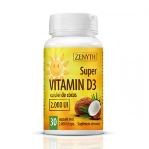 Super vitamin D3 2000UI - 30 cps