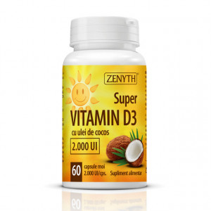 Super vitamin D3 2000UI - 60 cps