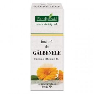 Tinctura de galbenele (CALENDULA OFFICINALIS TM) 50 ml