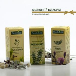 Tratament naturist - Abstinenta - tabagism (pachet)