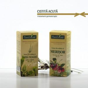 Tratament naturist - Cistita acuta (pachet)