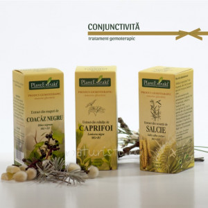 Tratament naturist - Conjunctivita (pachet)