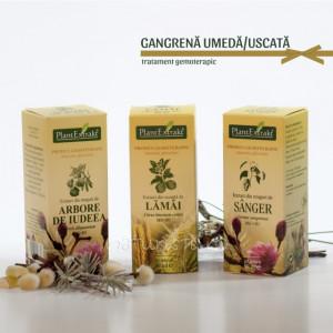 Tratament naturist - Gangrena umeda/uscata (pachet)