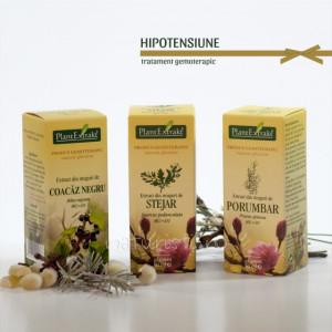 Tratament naturist - Hipotensiune (pachet)
