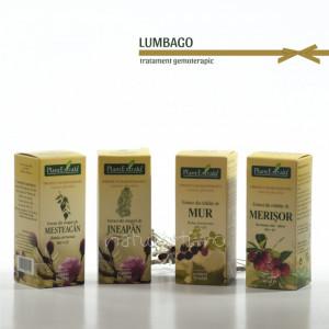 Tratament naturist - Lumbago (Lombago) (pachet)