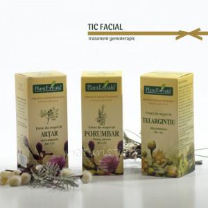 Tratament naturist - Tic facial (pachet)