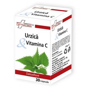 Urzica & Vitamina C - 30 cps