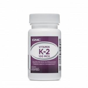 Vitamina K-2 100 mcg - 60 cps
