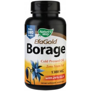Borage 1300mg EfaGold - 60 capsule gelatinoase moi