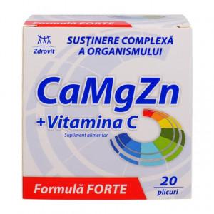 Ca+Mg+Zn+C Forte - 20 plicuri