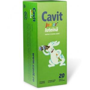 Cavit Junior Luteina - 20 cpr