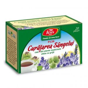 Ceai Curatarea Sangelui P126 - 20 pl Fares