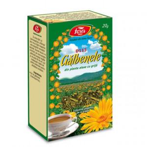 Ceai Galbenele - Flori D113 - 20 gr Fares