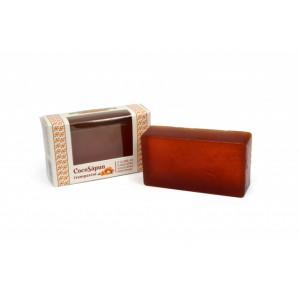 CocoSapun transparent cu argan, catina si aroma populara - 100 g