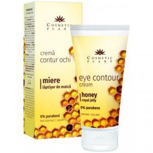 Crema contur ochi cu miere si laptisor de matca - 30 ml