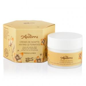 Crema de noapte antirid si fermitate Apiterra - 50 ml