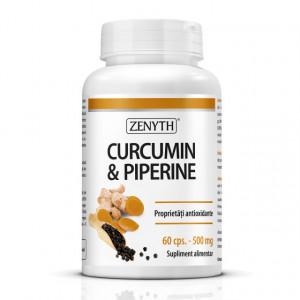 Curcumin & Piperine - 60 cps