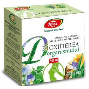Detoxifierea organismului, M116 - 28 plicuri