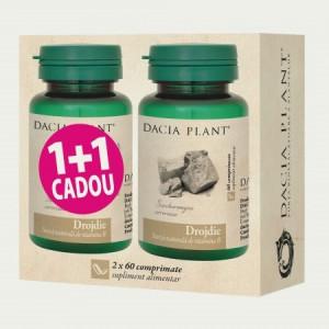 Drojdie - 60 cpr 1+1 GRATIS