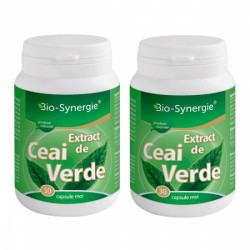 Extract Ceai Verde - 30 cps 1+1 Gratis Bio Synergie