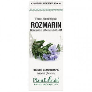 Extract din mladite rozmarin (ROSMARINUS OFF.)