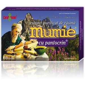 Extract purificat de rasina Mumie cu pantocrin - 60 tbl