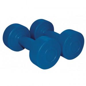Gantere aerobic albastru inchis 4 kg x2 1166