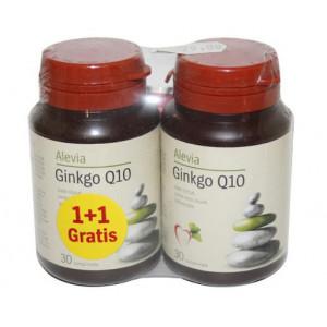 Ginkana Ginkgo Q10 - 30 cpr + 30 cpr Pachet