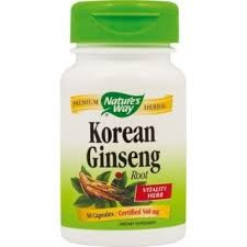 Ginseng Korean 560mg - 50 capsule
