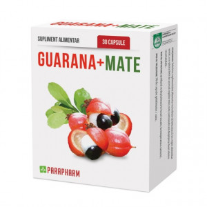 Guarana + Mate - 30 cps - 1+1 Gratis
