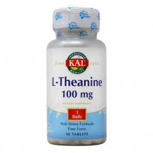 L-THEANINE 100mg - 30 cpr