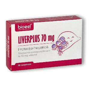 Liverplus protectie hepatica 70 mg - 80 cpr Bioeel