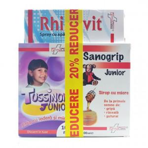 Pachet Raceala si Gripa Junior 20% reducere