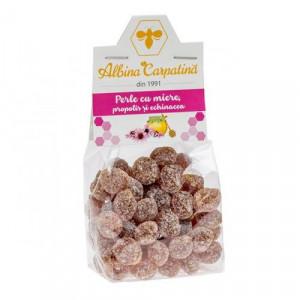 Perle cu miere, propolis si echinacea - 100 g