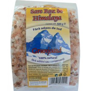Sare de Himalaya grunjoasa - 500 g Herbavit