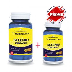 Seleniu Organic 60 cps + 30 cps Gratis