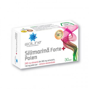 Silimarina Forte + Polen - 30 cps