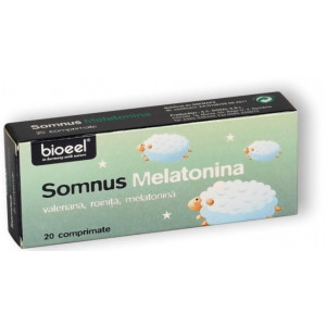 Somnus Melatonina - 20 cpr