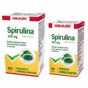 Spirulina 500 mg - 100 cpr + 30 cpr Gratis