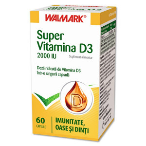 Super Vitamina D - 60 cpr