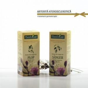 Tratament naturist - Arterita ateriosclerotica (pachet)